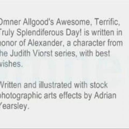 Omer Allgood's Awesome, Terrific, Truly Splen