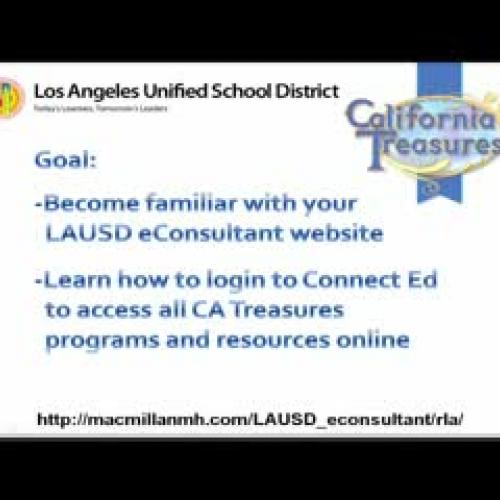 ConnectEd Treasures online