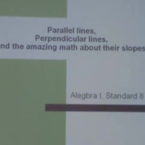 Parallel and Perpendicular lines Part 2 Smart