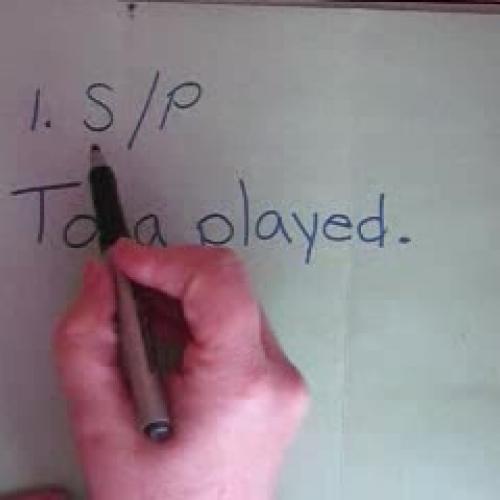 Assignment 2 Diagramming Sentences