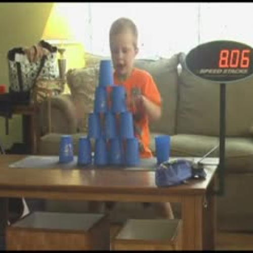 4 Year Old Speed Stack