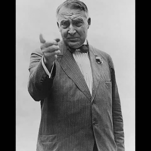 Return to Normalcy, Warren G. Harding