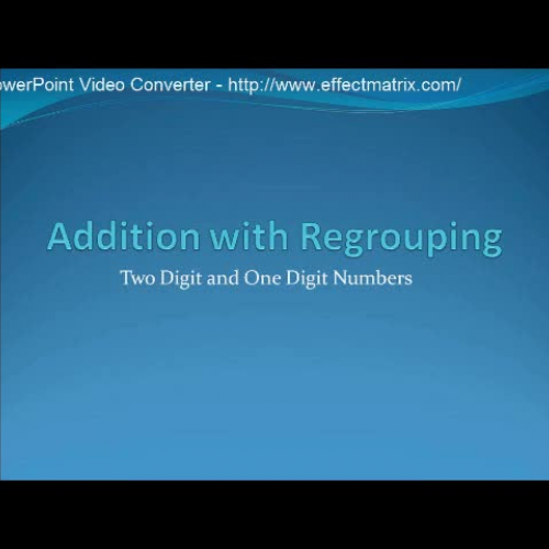 Addition with Regrouping