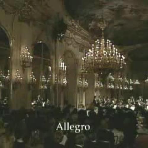 Piano concerto No 27 1st movt