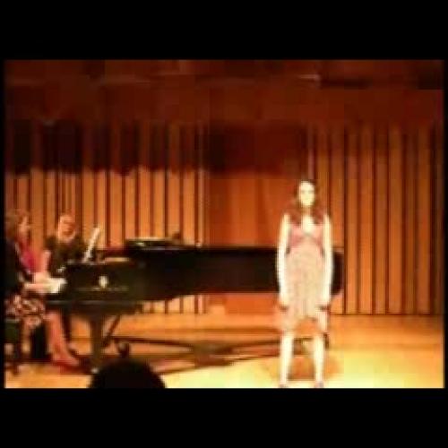 Mallory Fischer - Soprano - Will there ever b