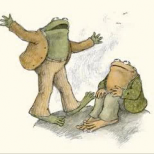 Frog and Toad_blue