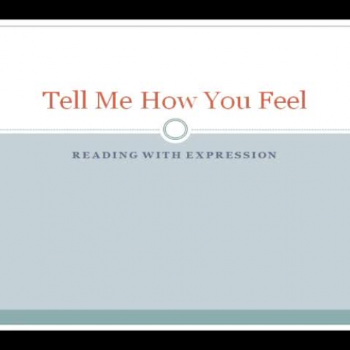 Tell Me How You Fell - Reading with Expressio