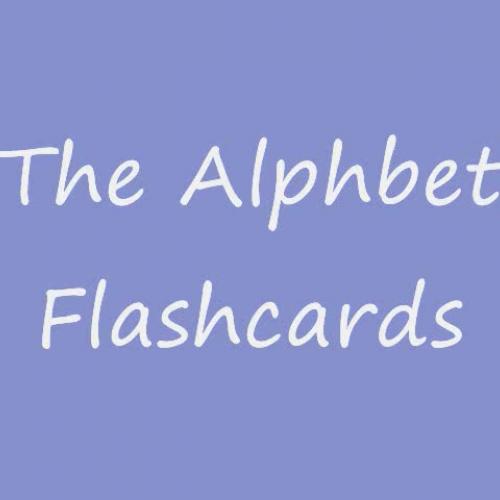 the aphabet falshcards