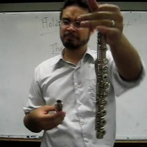 Holding the Flute