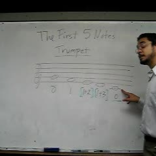 First Five Notes Trumpet
