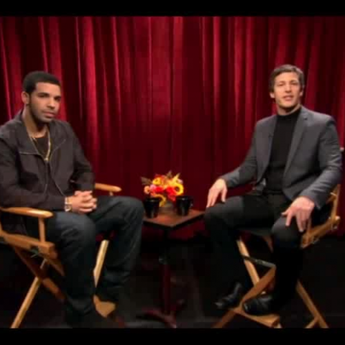 A interview with Drake.