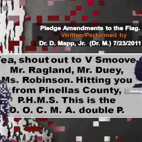 Rap Lyrics for Pledge Amendments DrMapp