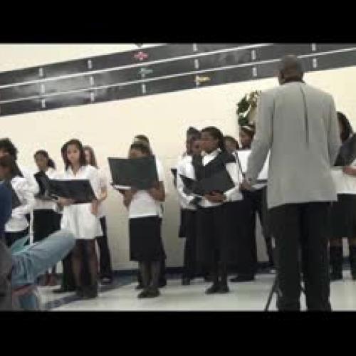 BMS Choir Christmas Performance