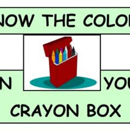 Crayon Color Box
