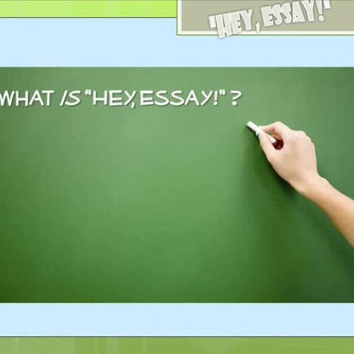 """""""Hey, Essay!"""" Movie"""