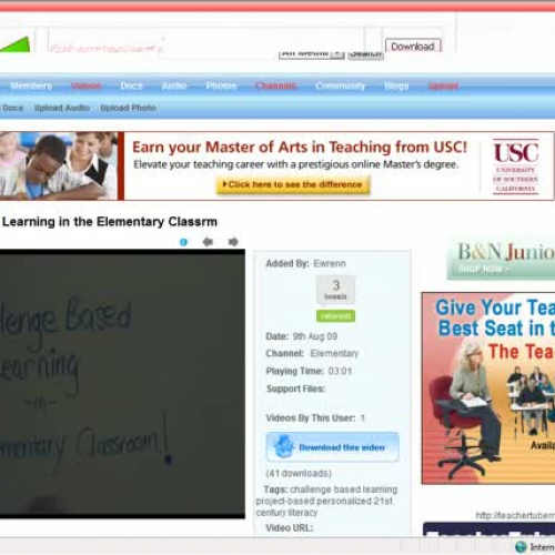 TeacherTube How To Tutorial