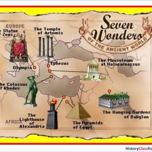 "7 Wonders ""Scratch-N-Sniff"""