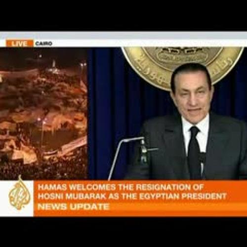 The Rise and Fall of Mubarak