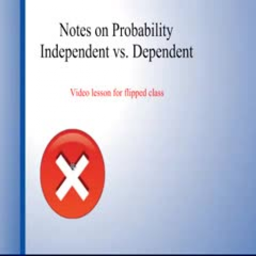 Independent vs. Dependent Events