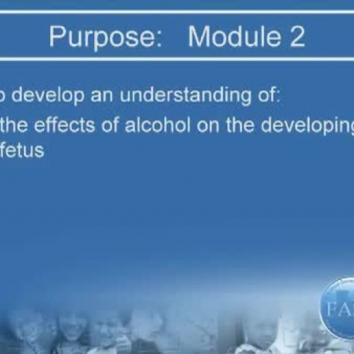 Alcohol affects brain