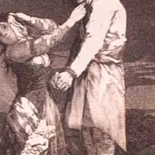 Goya's Caprichos: #12 - Out hunting for teeth
