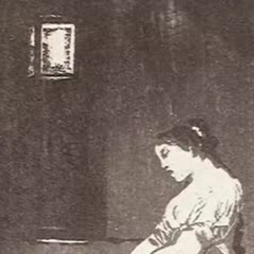 Goya's Caprichos: #32 - Because she was susce