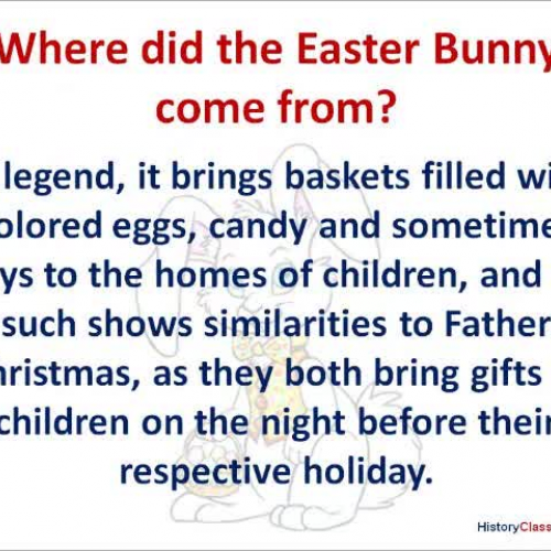 Where did the Easter Bunny Come From?