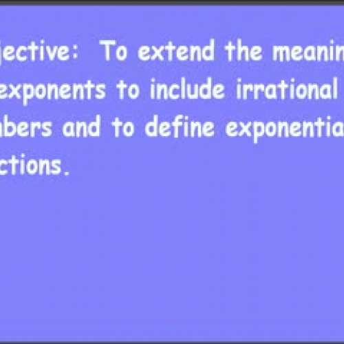 10-2 Exponential Equations