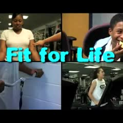 FIT FOR LIFE: EAT SMART & EXERCISE