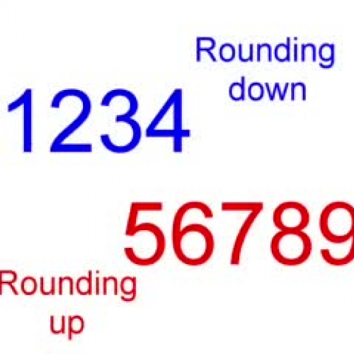 Place Value - Rounding to Tens of Thousands