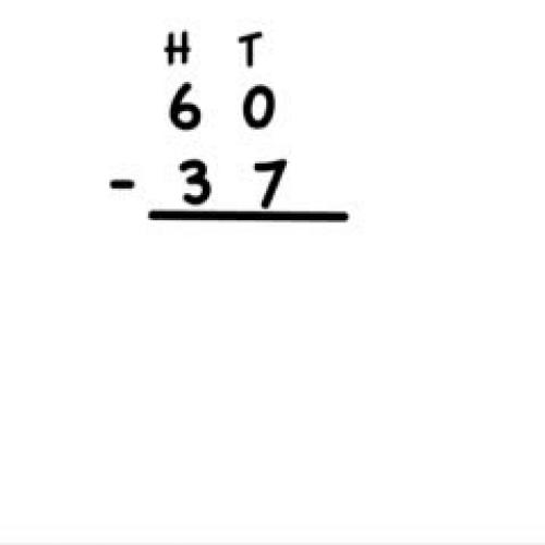 Subtraction With Internal Zeros