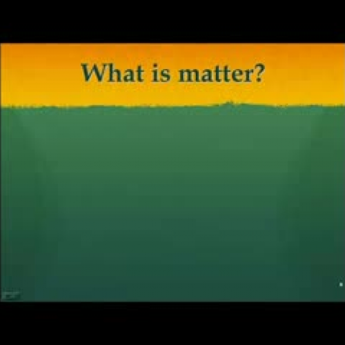Particle Nature of Matter