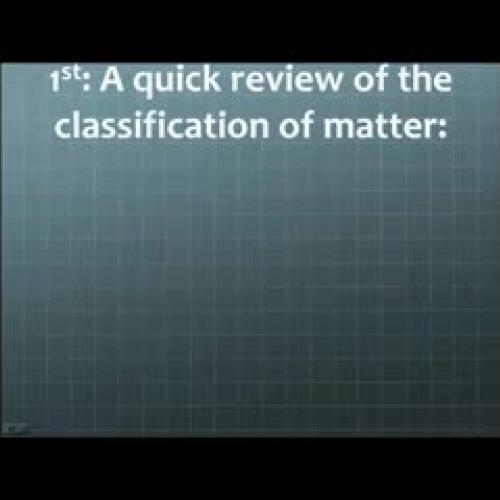 Classifying, Describing, Measuring Matter