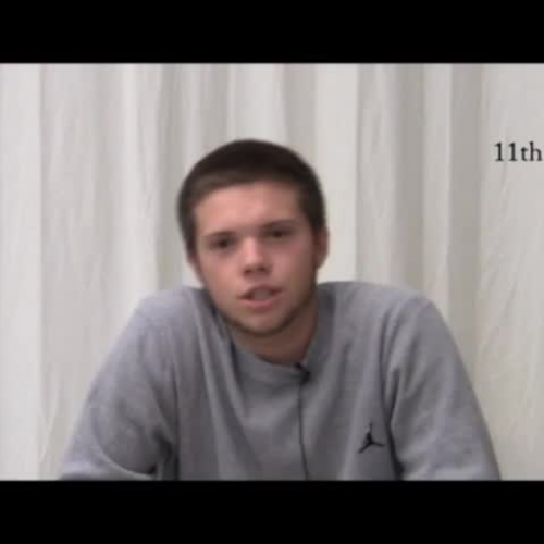 11th Grade Speeches