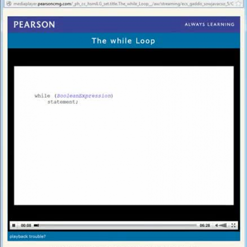 Chapter 4 - The while Loop