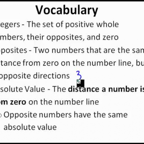 Absolute Value and Ordering Integers