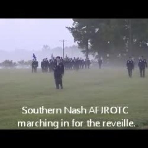 Retreat AFJROTC 10-16
