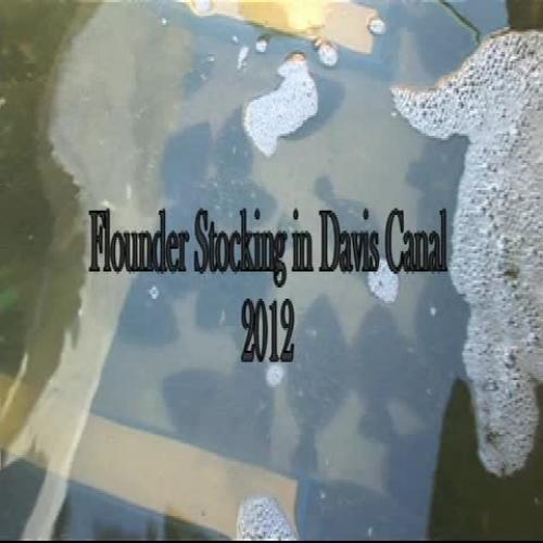 South Brunswick High School Flounder Release