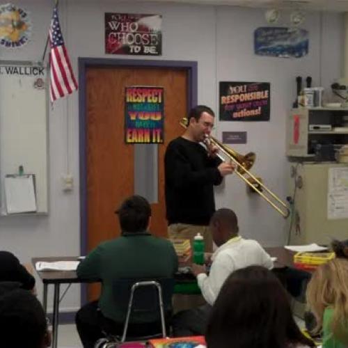 Mr Wallick trombone