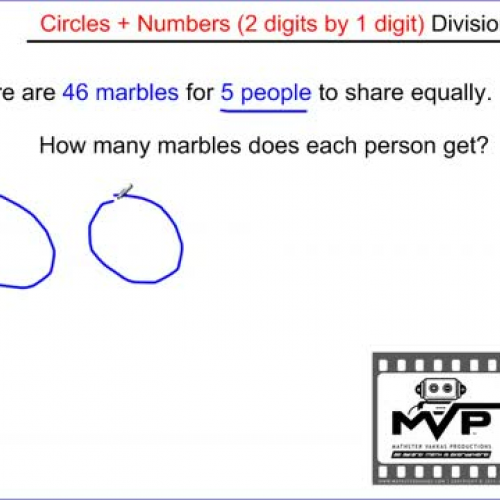 Division (easiest way to divide 2 digits by 1