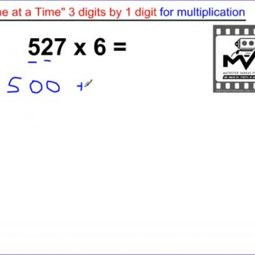 Multiplication (easiest way to divide 3 digit
