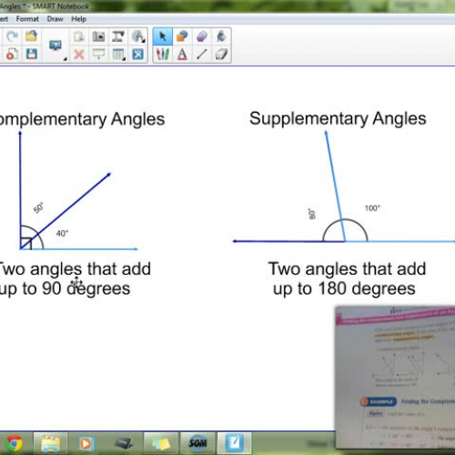 8-3 Special Pairs of Angles