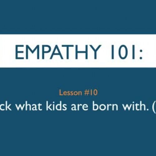 Empathy 101_ Unlock what kids are born with.