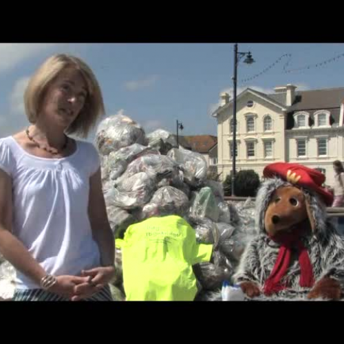 Tracey & the womble