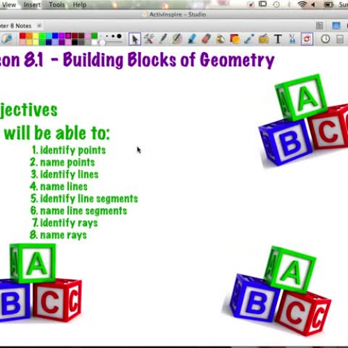 C1: 8.1 Day 1 - Building Blocks of Geometry