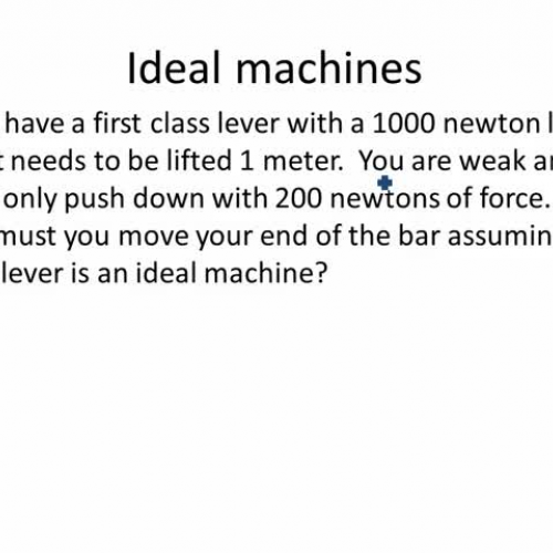 ideal machine