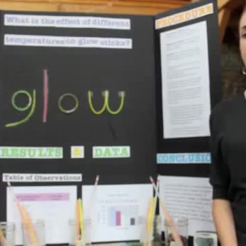 Emma's Science Fair Presentation