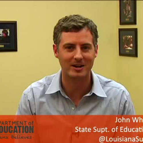 Supt. White?s Message to High School Students