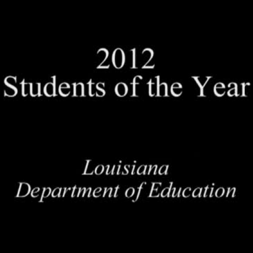 2012 Students of the Year Awards Program
