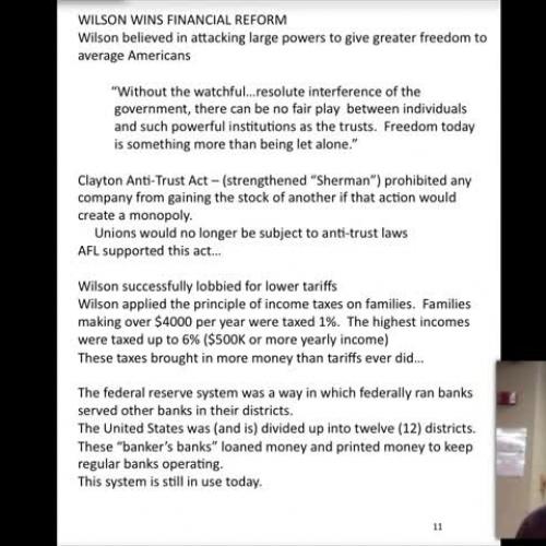 9.5 Vodcast Wilson's New Freedom